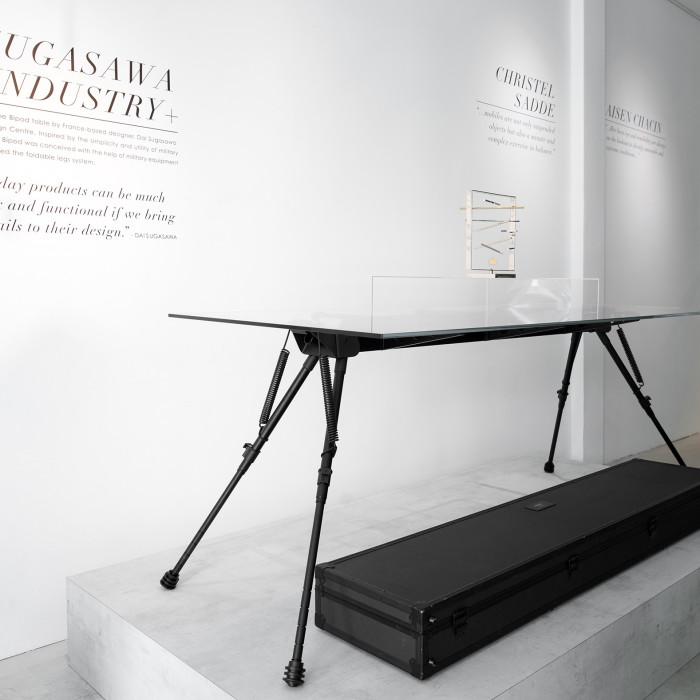 MIAIA GALLERY_DESIGNER - Dai Sugasawa for Industry Plus (Bipod table)_PHOTO CREDIT - Marc Tan Photography_small